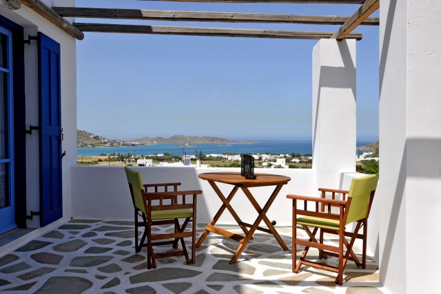 Thalassa, the balcony