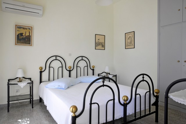 Panorama, traditional double bed